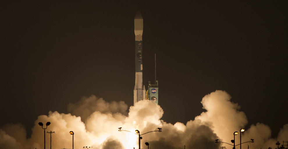 NASA Launches Groundbreaking Soil Moisture Mapper